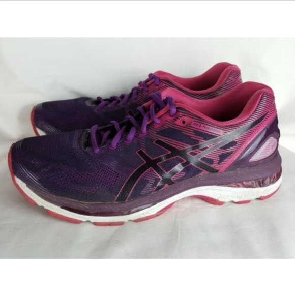 half off 52967 5c813 ASICS Gel Nimbus 19 Women's 9.5 Running Purple
